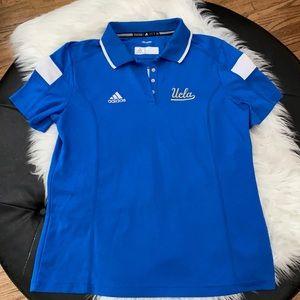 Adidas UCLA NCAA Climalite Polo